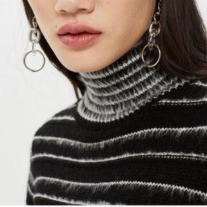 Topshop Sweaters - Topshop Turtleneck Crop Sweater